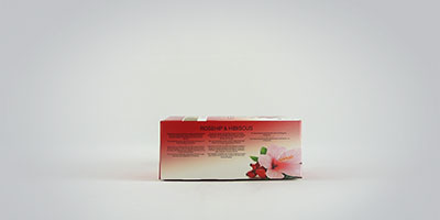 Twinings Rosehip and Hibiscus 25 x 2 g Teebeutel
