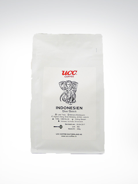 UCC Coffee Blue Batak, Indonesien
