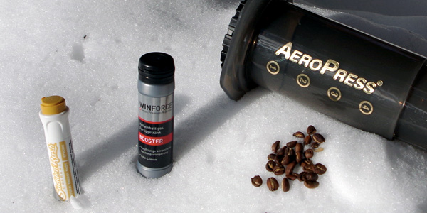 SuddenRush Guarana - WINFORCE Booster - Aeropress Filterkaffee