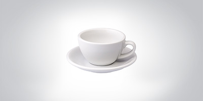 Loveramics Cappuccino Tasse weiss Cappuccino Cappuccinotasse