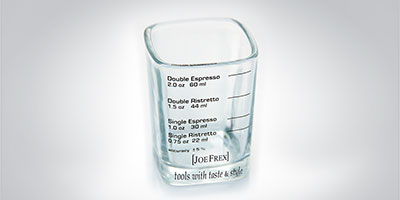 Joe Frex Espresso Shotglas 50ml Shotglas