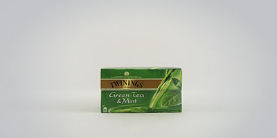 Twinings Green Tea and Mint 25 x 2 g Teebeutel