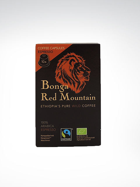 Kaffa Bonga Red Mountain, Espresso