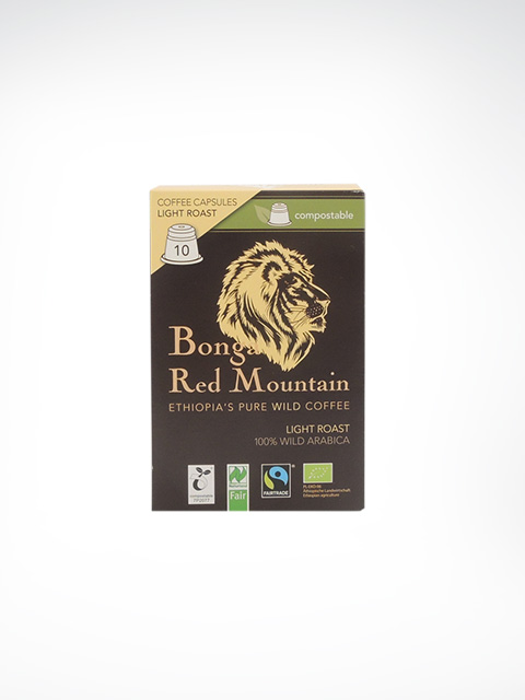 Kaffa Bonga Red Mountain, Light Roast