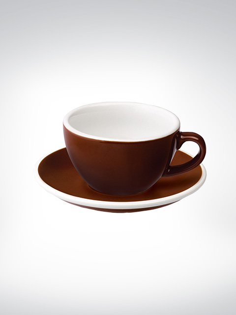 Loveramics Flat White Tasse braun