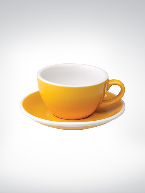 Loveramics Flat White Tasse gelb