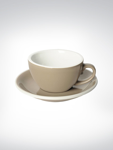 Loveramics Flat White Tasse taupe