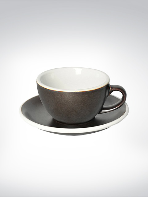 Loveramics Flat White Tasse Gunpouder