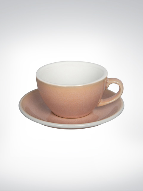 Loveramics Cappuccino Tasse Rose