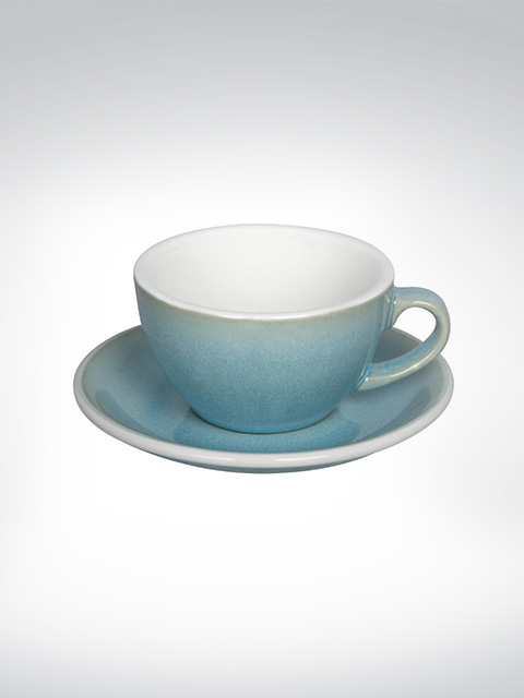 Loveramics Cappuccino Tasse Ice Blue