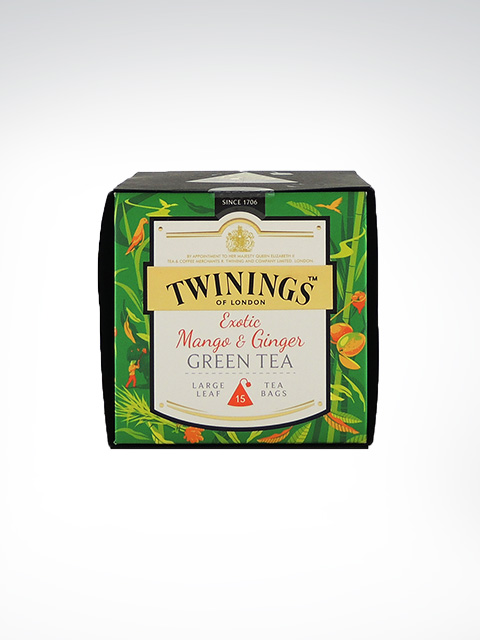 Twinings Exotic Mango and Ginger Green Tea